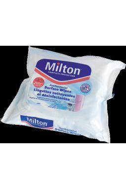 Lingettes nettoyantes désinfectantes pour surfaces MILTON