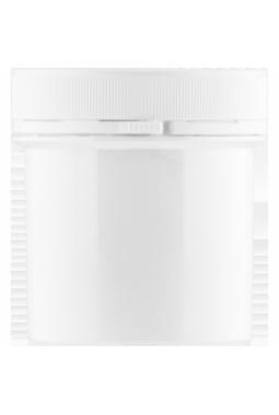 Pot plastique 125 ml avec couvercle