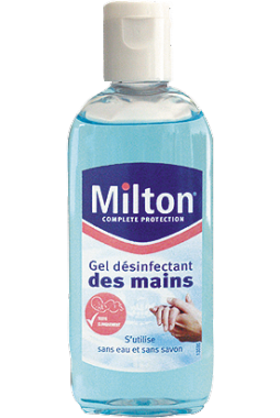 Gel désinfectant mains MILTON