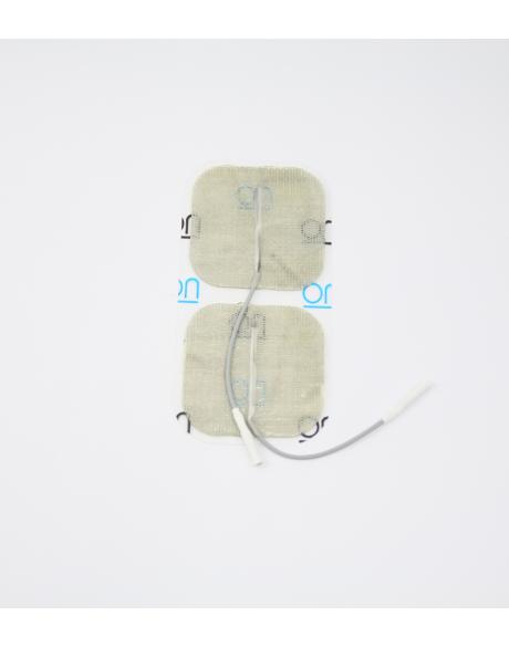 Electrodes DURA-STICK PREMIUM Fil - Carrée 50 x 50 mm (x4)