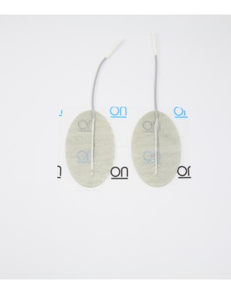Electrodes DURA-STICK PREMIUM Fil - Ovale 40 x 60 mm (x4)