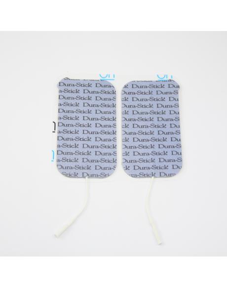 Electrodes DURA-STICK PLUS Fil - Rect. 50 x 90 mm (x4)