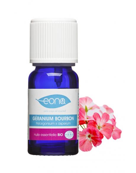 huile essentielle de geranium bourbon bio eona