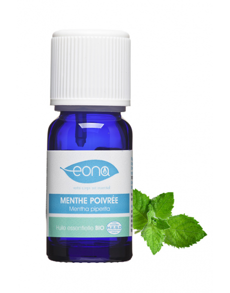 huile essentielle de menthe poivrée bio eona