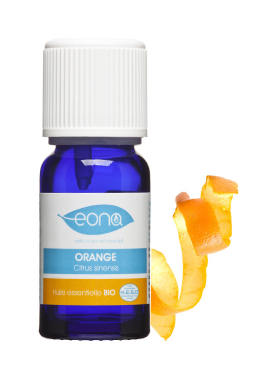 Organic Orange Essential Oil (Zest Essence)