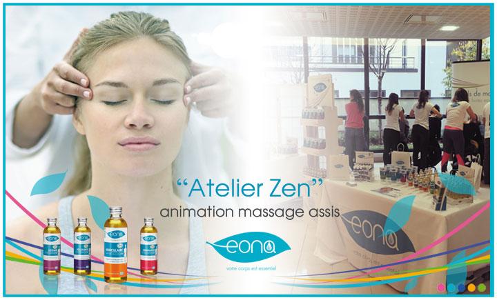 Image «Atelier zen» organisé par EONA au siège de Mondadori