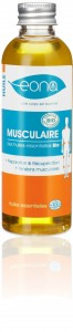 huile massage musculaire
