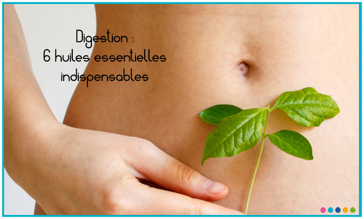Image Digestion : 6 huiles essentielles indispensables