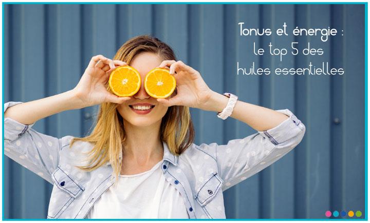 Image Tonus & énergie : le top 5 des huiles essentielles