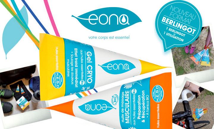 Image EONA décline sa gamme sport en format berlingots
