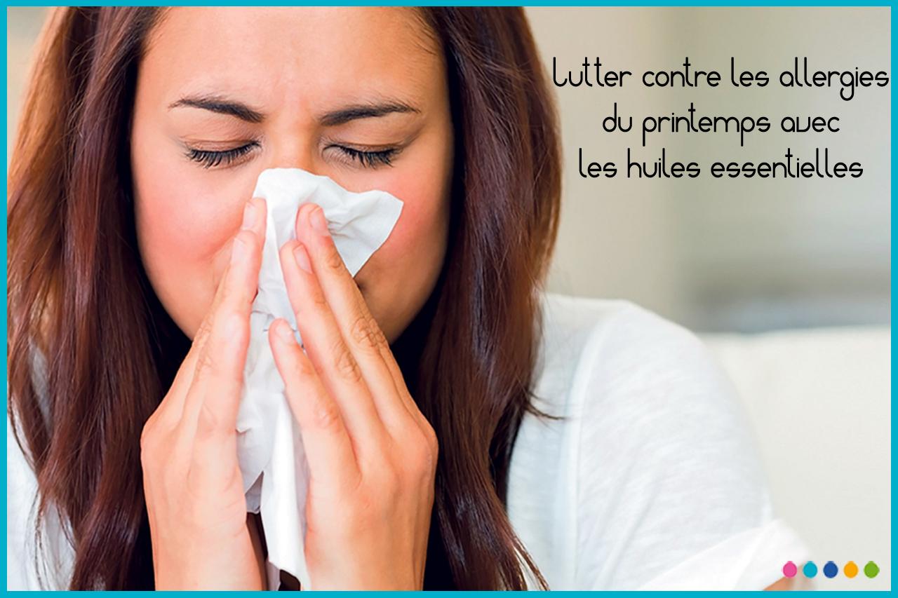 Image Lutter contre les allergies du printemps avec les huiles essentielles